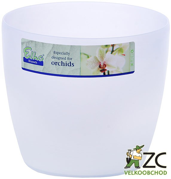 Obal Brussels Orchid 12,5 cm frosted