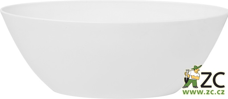Obal Brussels Diamond Oval 20 cm white
