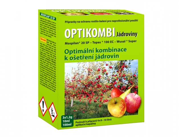 Optikombi JÁDROVINY 3x1,2g+10+100ml