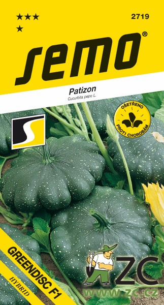 Patizon - Greendisc F1 zelený 1,2g