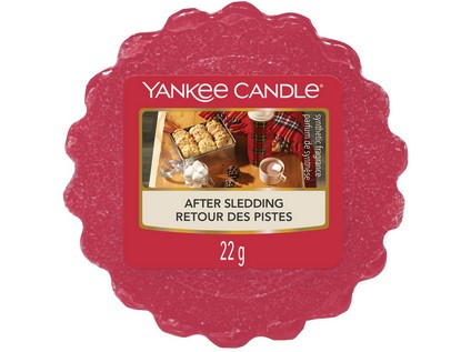 Vosk Yankee Candle After Sledding 22g tm.červený