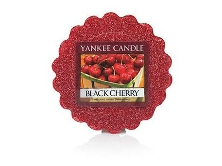 Vosk Yankee Candle Black Cherry 22g bordo